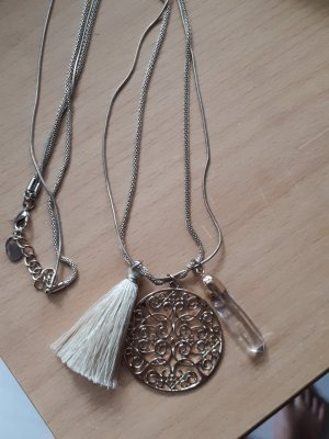 Necklace silver-colored-gold-colored