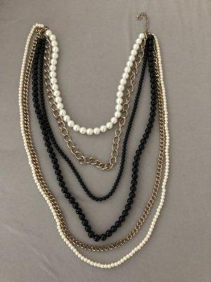 H&M Collier de perles multicolore