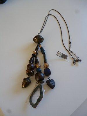 Pilgrim Necklace multicolored metal