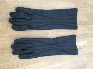 Armani Jeans Leren handschoenen zwart Leer