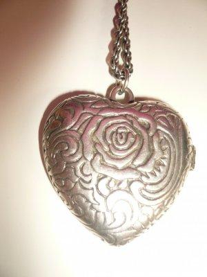 lange Medalion Herzkette