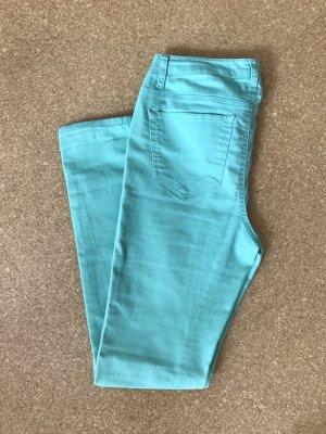 Lange mint/türkise Jeans Gr.38