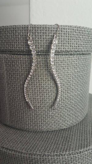 Orecchino a pendente argento