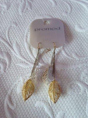 Lange Ohrringe in Blattform von PROMOD