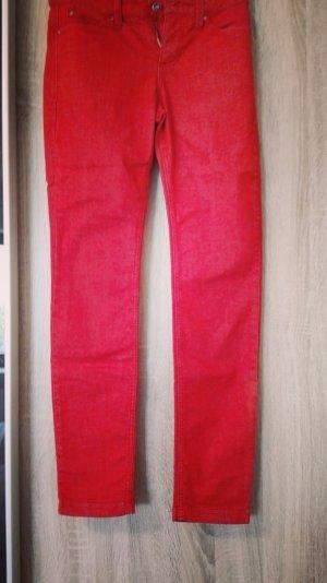 Lange rote Jeans von MAC