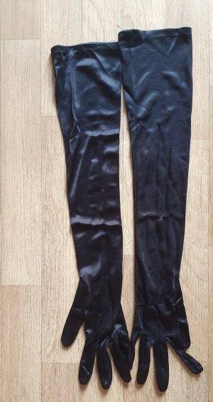 Avond handschoenen zwart