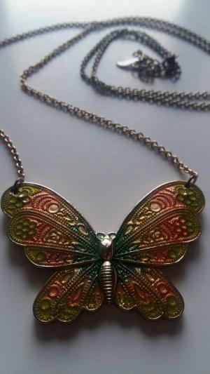 Lange Schmetterling Kette