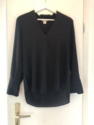 H&M Lange blouse zwart