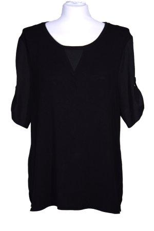 Lange schwarze Bluse von **Calvin Klein**