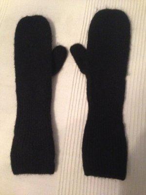 Lange schwarze Handschuhe von H&M