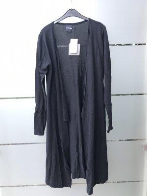 Lange schwarze Jacke