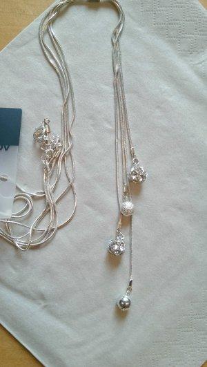 lange Silberkette Neu