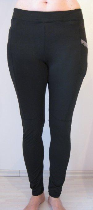 Esprit Pantalon strech noir-gris