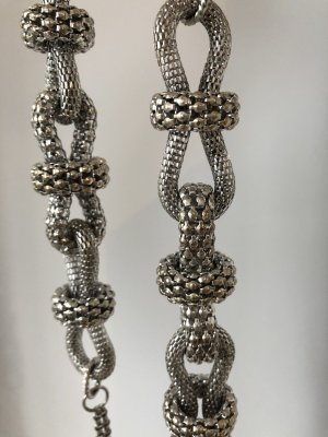 Topshop Necklace silver-colored