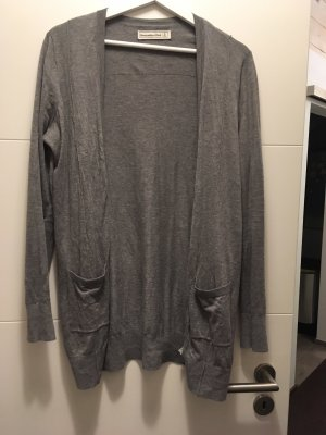 Abercrombie & Fitch Knitted Cardigan dark grey