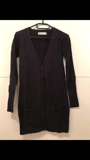 Lange Strickjacke Basic Zara