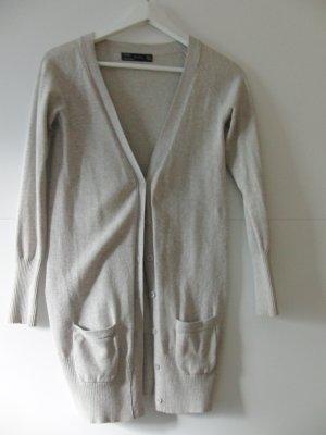 Zara Cardigan beige coton