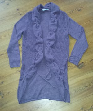 Lange Strickjacke Betty Barclay Gr. 40 lila neu