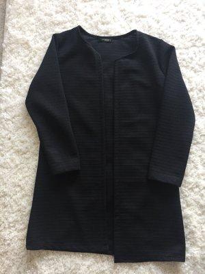 Lange Strickjacke schwarz