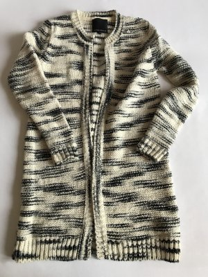Second Female Coarse Knitted Jacket multicolored wool