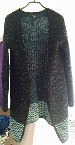 Lange Strickjacke, warm