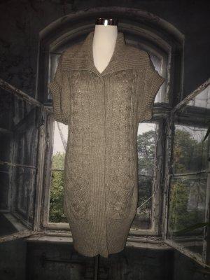 Sa.Hara Long Knitted Vest multicolored
