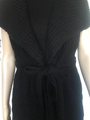Amisu Smanicato lavorato a maglia nero