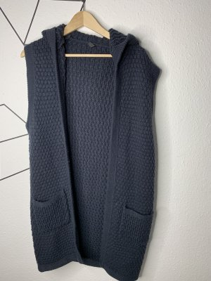 Ann Christine Knitted Vest dark blue