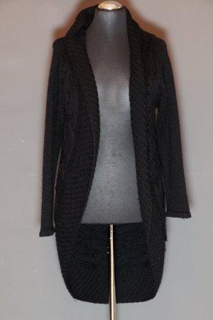Lange Strickweste mit aufwendigem Muster von NICOWA