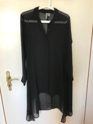 H&M Divided Long Blouse black