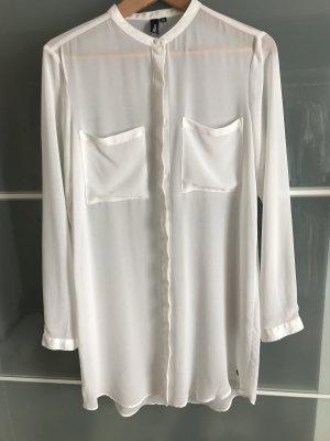 Lange Transparente Bluse