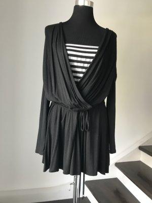 Lange Tunika-Bluse oder kurzes Kleid mit eingenähten Oberteil von Jus d' Orange Paris