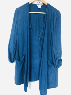 H&M Blazer largo azul
