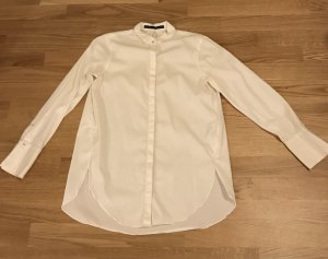 Lange weiße Bluse, der Klassiker von ZARA