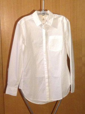 H&M L.O.G.G. Blouse longue blanc coton