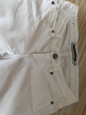 Lange weiße Hose