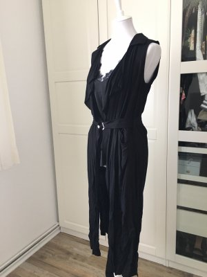 LC Waikiki Long Knitted Vest black