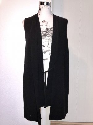 esprit collection Long Knitted Vest black