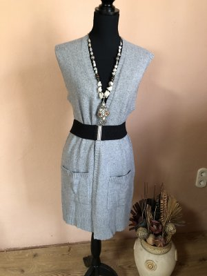 s.Oliver Knitted Vest silver-colored-grey