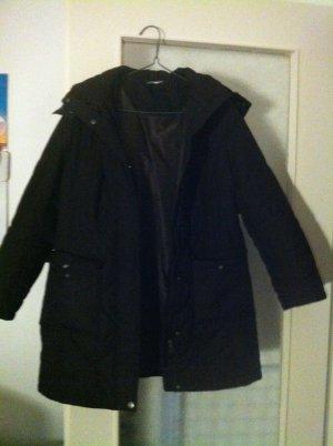 Long Jacket black brown polyester