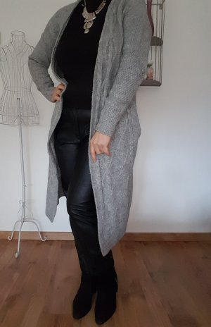 Lange Woll-Strickjacke Gr.S H&M