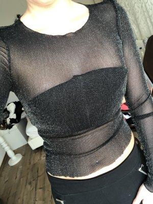 Camisa de malla negro