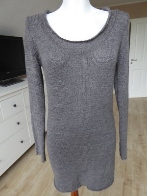 Vero Moda Long Sweater silver-colored-grey