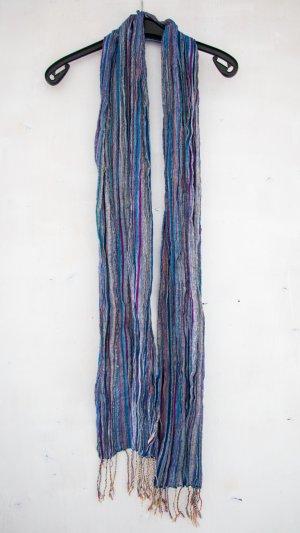 Écharpe d'été multicolore coton