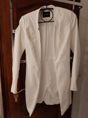 Orsay Blazer largo blanco