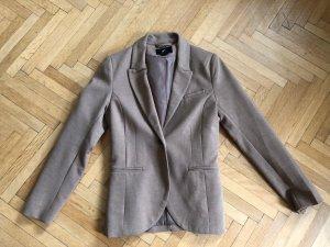 H&M Jersey Blazer grey brown