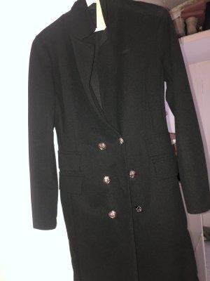 Made in Italy Blazer largo negro-color oro
