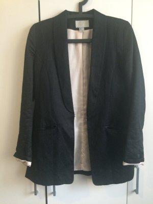 Langer Blazer H&M schwarz