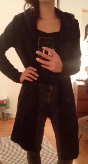 H&M Divided Sweat Jacket black cotton