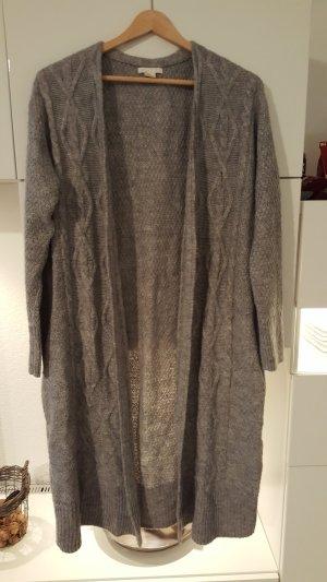 H&M Gebreide cardigan lichtgrijs